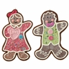 RAZ Gumdrops and Jellybeans 8 Inch Gingerbread Ornaments set of 2