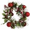 RAZ Gumdrops and Jellybeans Peppermint Candy Greenery Christmas Wreath