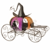 RAZ Halloween 20 inch Pumpkin Carriage