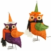 RAZ Halloween 24 Inch Lighted Sisal Owl
