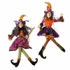 RAZ Halloween 41 inch Hanging Posable Witch