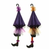 RAZ Halloween 51 inch Umbrella with Witch Legs