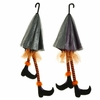 RAZ Halloween 52 inch Umbrella with Witch Legs