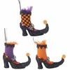 RAZ Halloween Witch Boot Ornament