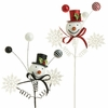 RAZ 20 inch Snowman Head Spray set of 2