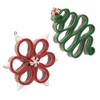 Raz Kitchen Candy Ribbon Candy Ornaments