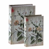 RAZ Mediterranean Melange 10 inch Nested Book Boxes set of 2
