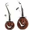 RAZ Metal Jack O Lantern Set 22.5 inches