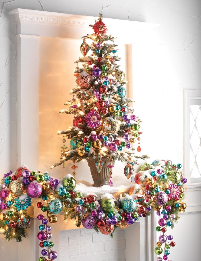 RAZ Imports Ornament Delight Decorated Christmas tree at www.shelleybhomeandholiday.com