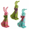RAZ Polka Dot Sitting Rabbit 14 inches