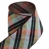 Raz Reniassance Revelry 4 in Plaid Wire Ribbon