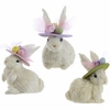 RAZ Vintage Easter 8 inch Easter Bunny with hat