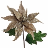 RAZ  Tiffany Poinsettia Floral Spray