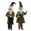 RAZ Forest Friends  Posable  Elves 23 inches tall set of 2