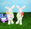 Ruffle Bunny Stander 18 inches