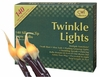 Twinkle Lights 140 Silicone Bulbs with Brown 26 ft Cord