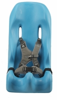 Aqua Sitter with Gray Harness