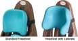 Aqua Standard & Lateral Headrests