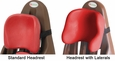 Cherry Standard & Lateral Headrests
