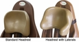 Latte Standard & Lateral Headrests