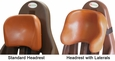 Pumpkin Standard & Lateral Headrests