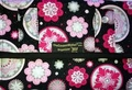 The Coupon Wallet�<br>Deluxe Organizer<br>Black Sparkle Flowers