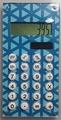 Blue Geo Pocket Calculator For The Coupon Wallet� Organizer