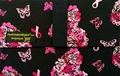The Coupon Wallet�<br>Basic Organizer<br>Black Pink Ribbon Butterfly