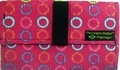 The Coupon Wallet�<br>Basic Organizer<br>Hot Pink Circles