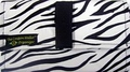 The Coupon Wallet�<br>Basic Organizer<br>Black White Zebra