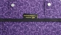 The Coupon Wallet®<br>Deluxe Organizer<br>Purple Elegant Swirls
