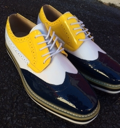 Angelino Blue Yellow Spirit Shoes