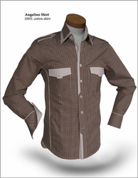 Angelino CK Brown size S(15.5)
