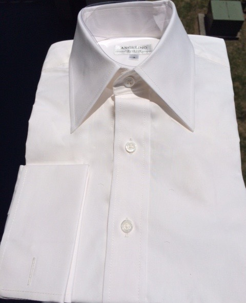 Angelino Off White Dress Shirt