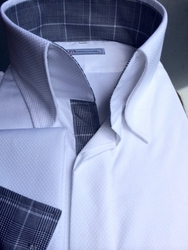 MorCouture Limited Edition Le Blank High Collar Shirt