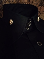 MorCouture High Collar Shirts