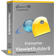 Upgrade to ViewletBuilder8 Enterprise from VB8 Pro Only - 1 User (Win)