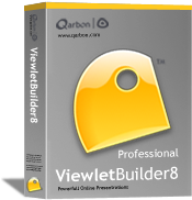 Upgrade to ViewletBuilder8 Pro from VB7 Pro - 1 User (Win) + 2 Yr Plan