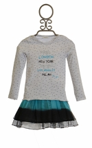 3 Pommes Paris Tee with Tutu Skirt