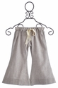 A Bird Ester Herringbone Girls Wide Crop Pants