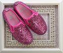 Amiana Glitter Shoes in Pink