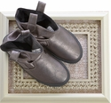 Amiana Kids Pewter Boots