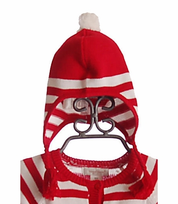 Angel Dear Candy Cane Infant Hat