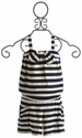 Anthem of the Ants Girls Striped Romper