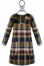 Anthem of the Ants Plaid Dress for Girls (4,5,6)