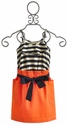Anthem of the Ants Sail Away Orange Girls Dress