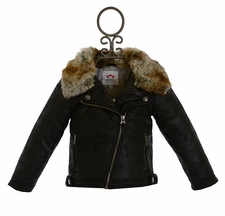 Appaman Moto Jacket in Black (2T,3T,4T,5)