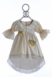 Arabella Rose Girls Vintage Top with Lace (2T & 3T)