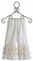 Arabella Rose Secret Garden Ivory Girls Pant