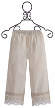 Arabella Rose Victorian Inspired Pant for Girls (3T & 8)